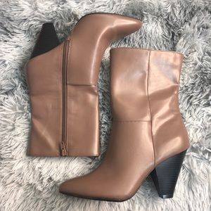 Christian Siriano Heeled Ankle Boots
